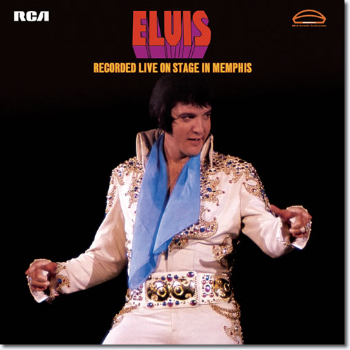 Elvis Recorded Live On Stage In Memphis 2 LP FTD Vinyl Limited Edition.