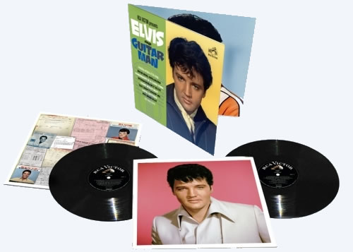 Elvis Sings Guitar Man FTD Vinyl Album : Cover Art & Tracklist