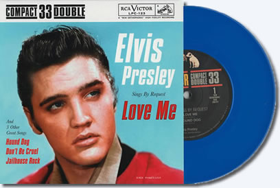 Buy Elvis Presley Sings By Request, Love Me and Three Other Great Songs 45RPM Vinyl 'EP' : BLUE