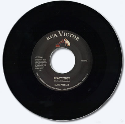 Ready Teddy / Rip it Up 45 RPM Vinyl Single.