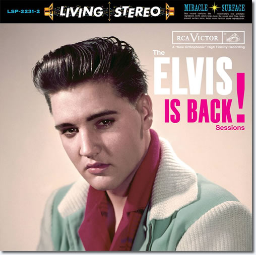 Cover Art : The Elvis Is Back Sessions 2-disc 180-gram vinyl set