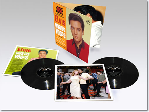 Viva Las Vegas 2-LP Limited Edition Vinyl Set