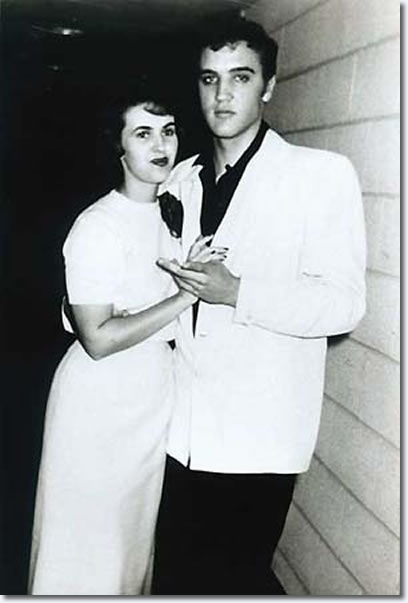 Wanda Jackson and Elvis Presley