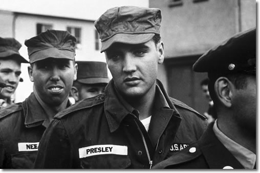 Elvis Aaron Presley In the U.S. Army 1958-1960