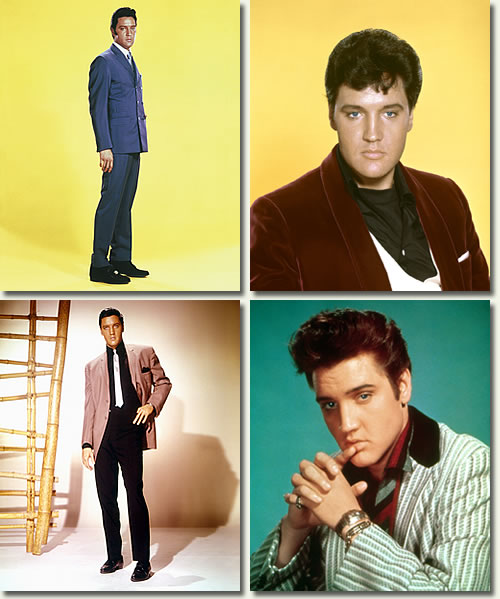Elvis Portraits celebrates twenty years of JAT Productions. This special book is hardcover and all color. This was the first in a series of two, the second being Elvis Concerts.