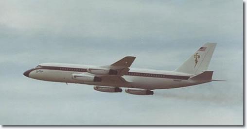 The Lisa Marie in Flight