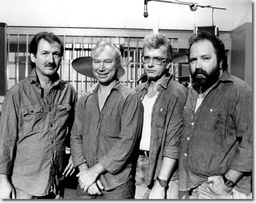 The TCB Band - James Burton - Glen D Hardin - Jerry Scheff - Ronnie Tutt