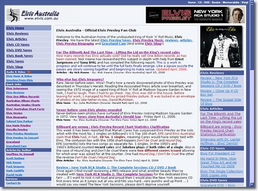 Elvis Australia - May 1, 2008