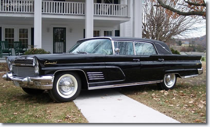 Elvis Presley's 1960 Lincoln Continental Mark 5