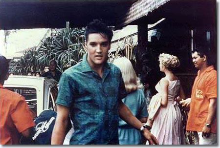 Elvis at the Coco Palms Resort, 1961