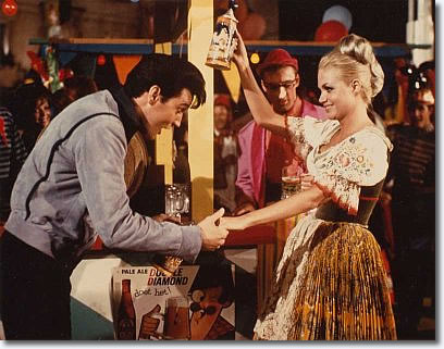 Elvis Presley and costar, Annette Day