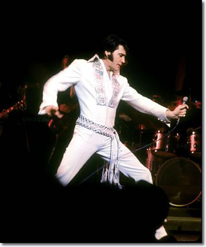 Elvis Presley live on stage 1970