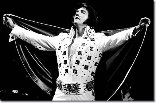 Elvis Presley at Madison Square Garden 1972
