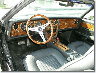 Interior of a 1973 Stutz Blackhawk