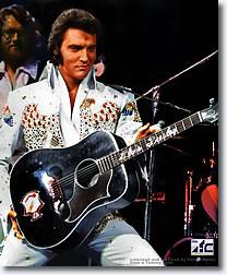 Elvis Presley 1973.
