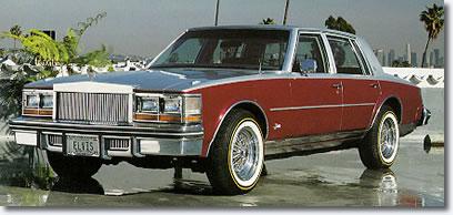Elvis' 1977 Cadillac Seville