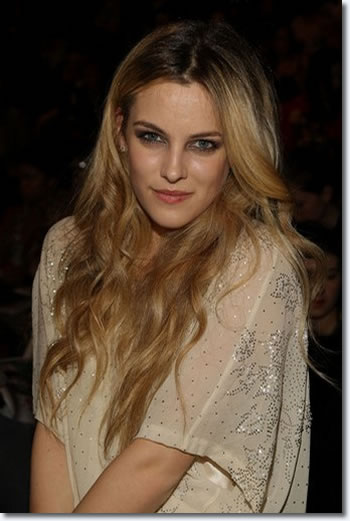 Elvis Presley's granddaughter Riley Keough attends the Anna Sui 2008 Fall Collection during Fashion Week, Wednesday, Feb. 6, 2008, in New York