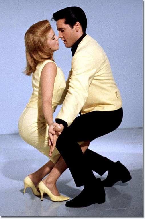 Ann-Margret and Elvis Presley