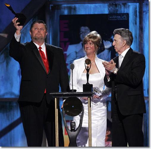 Bill Black's son Louis Black, Daughter Nancy Black Shockley and D.J. Fontana