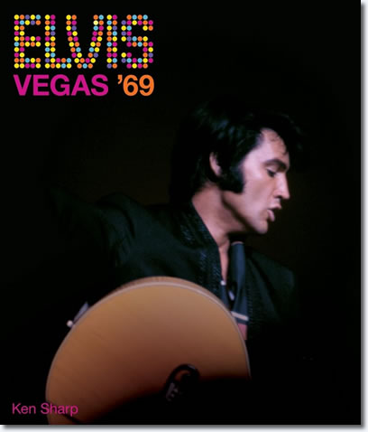 Elvis: Vegas '69 hardcover book