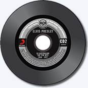 Elvis Presley: 50 Australian Top Ten Hits 1956-1977 Disc 2