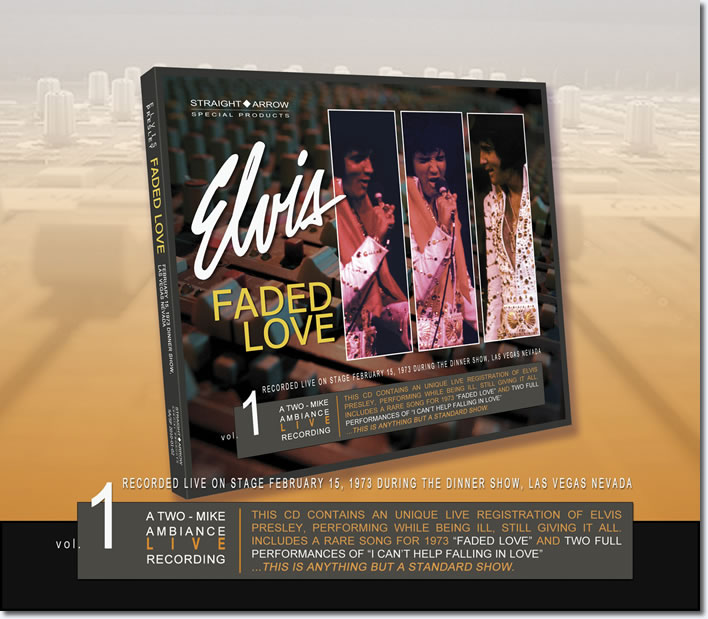Faded Love CD : Two-Mike Ambience Live Recordings