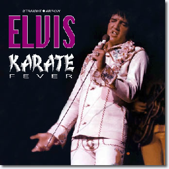 Karate Fever CD from Straight Arrow Label
