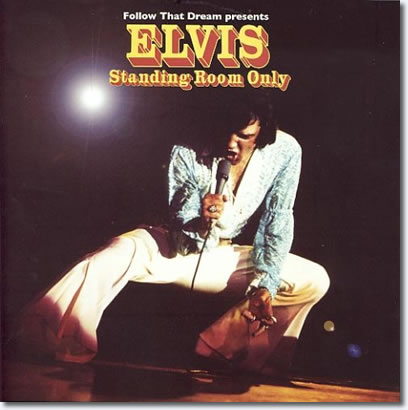 Elvis : Standing Room Only booklet Cover Art