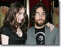 Elizabeth Jagger and Sean Lennon