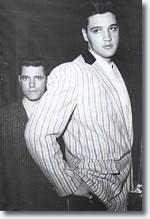 Charlie Hodge & Elvis Presley from the book 'Elvis In Munich'