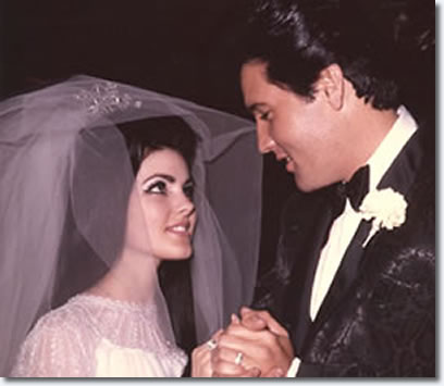 Priscilla and Elvis Presley - Married, May 1, 1967