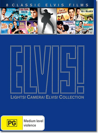 Elvis! - Lights! Camera! Elvis! Collection - Australia (8 Disc Box Set)