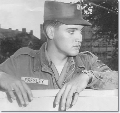 Elvis Presley in the U.S. Army