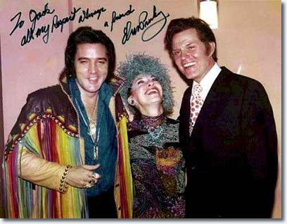 Elvis, Marie and Jack Lord