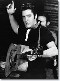 Elvis on Ed Sullivan Show.