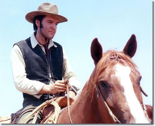 Elvis Presley in 'Charro!