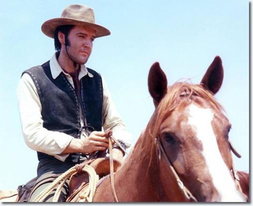 Elvis Presley in 'Charro!