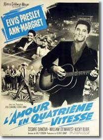 Viva Las Vegas French movie poster