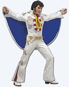 Aloha Elvis Presley Action Figure