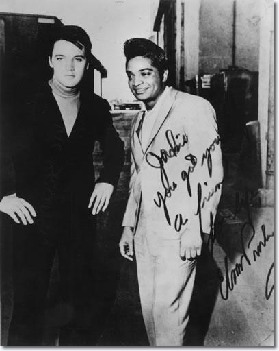 Elvis Presley and Jackie Wilson 1966