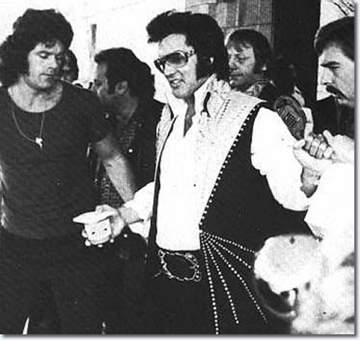 Jerry Schilling & Elvis Presley