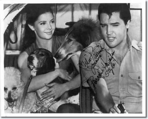 Julie Parrish, Elvis Presley - Paradise, Hawaiian Style