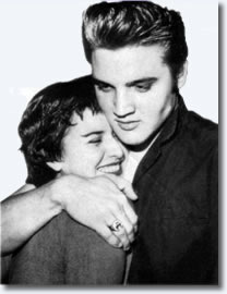 June Juanico and Elvis Presley
