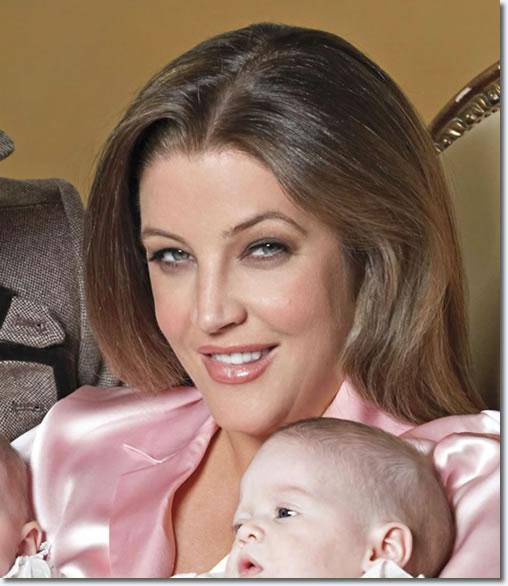Lisa Marie Presley with Harper