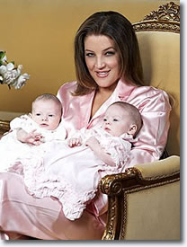 Lisa Marie with Finley and Harper