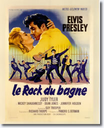French - Jailhouse Rock Poster