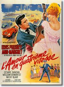 French - Viva Las Vegas Poster