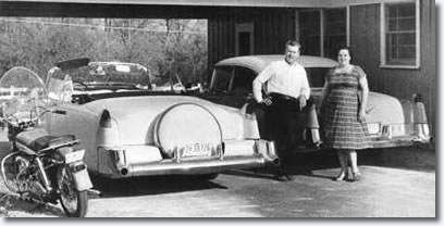 Vernon and Gladys Presley : The Pink Cadillac : Fleetwood Series 60