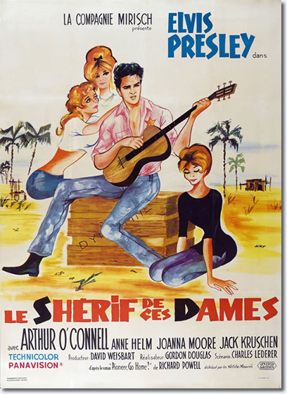 Follow That Dream - French Movie Poster