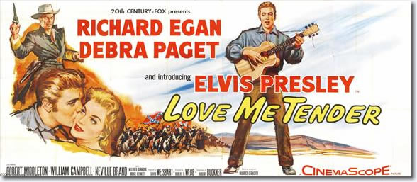 Love Me Tender - 20th Century Fox 1956